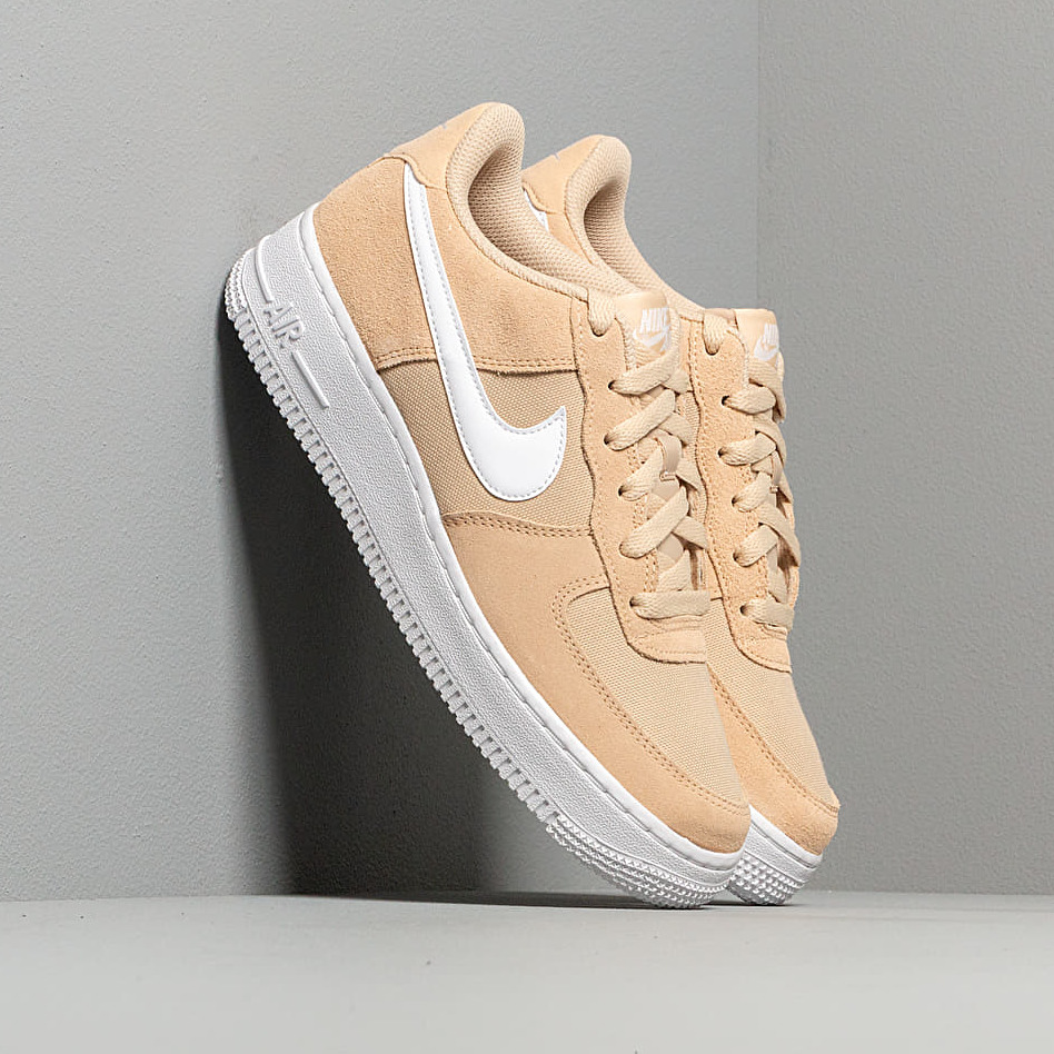 Nike Air Force 1 Pe (GS) Desert Ore/ White, Brown