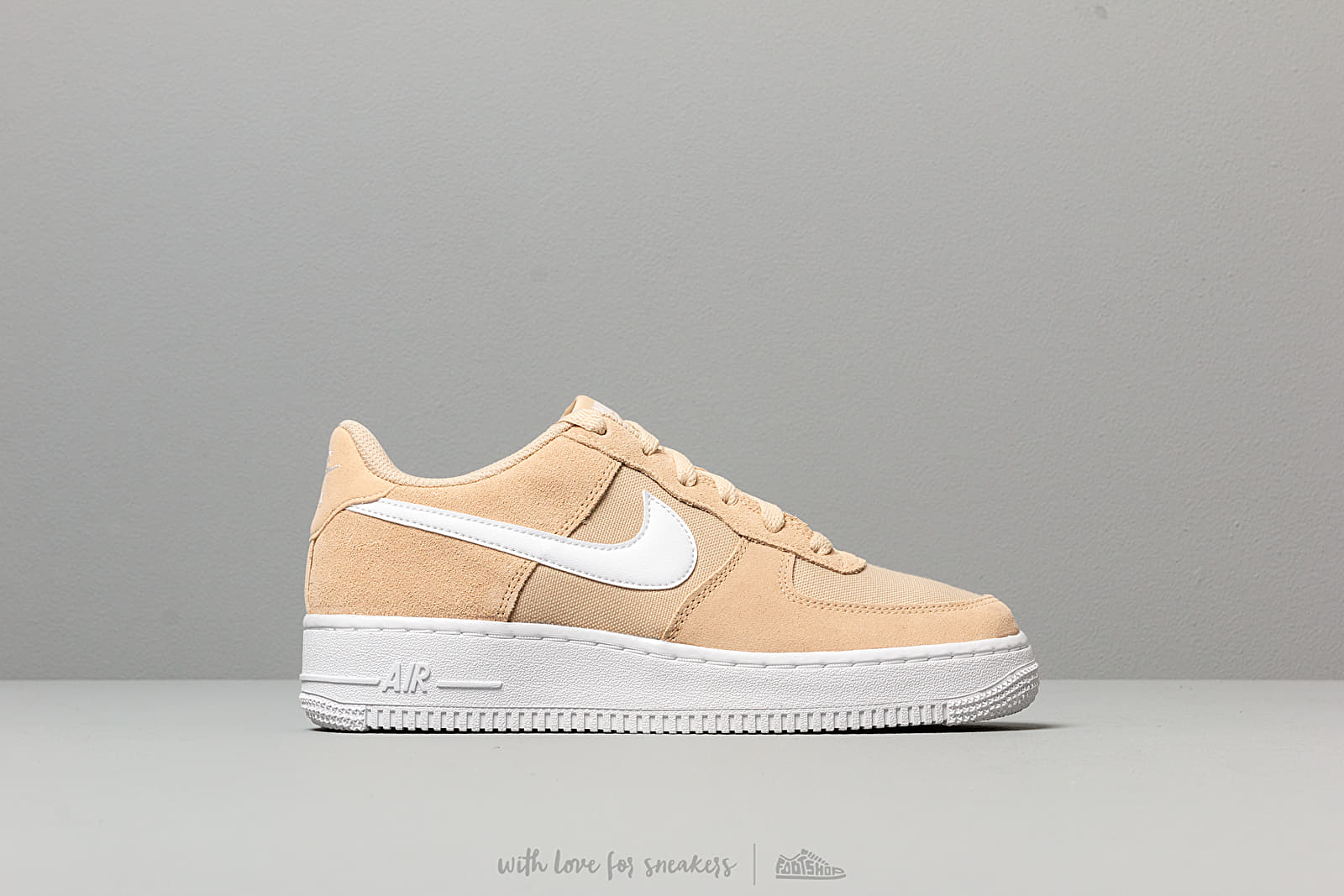 Nike Air Force 1 Pe (GS) Desert Ore White | Footshop