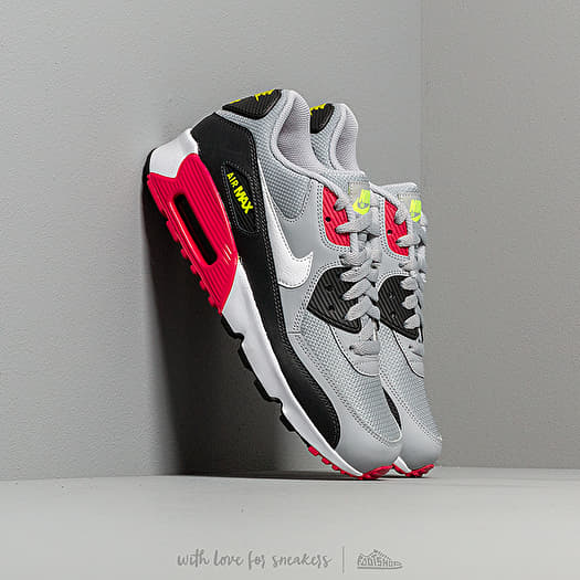 AIR MAX 90 ESSENTIAL WOLF GREY WHITE RUSH PINK