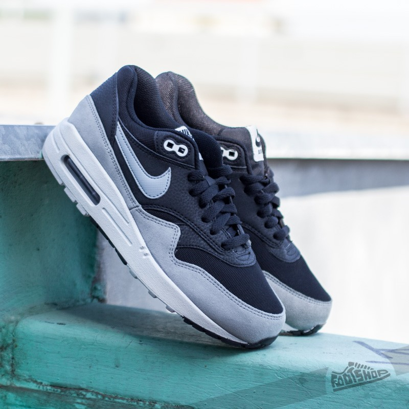Nike Wmns Air Max 1 Essential Black Dove Grey Pure Platinum   Footshop