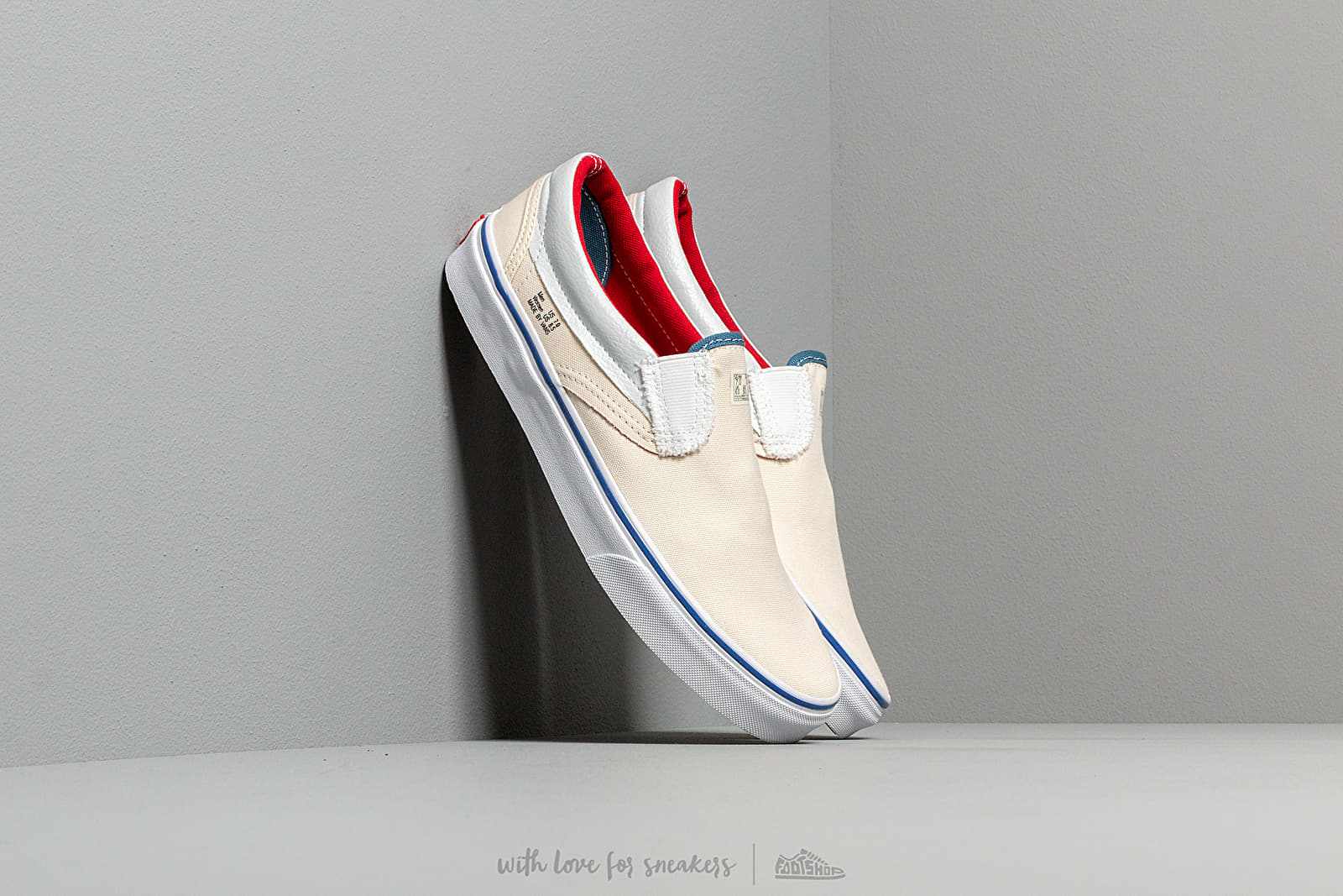 Men's shoes Vans Classic Slip-On (Outside In) Natural/ Stv