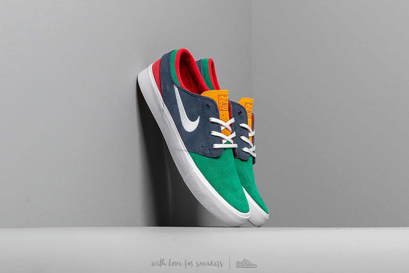 Nike Sb Zoom Janoski Rm Lucid Green/ White-Obsidian