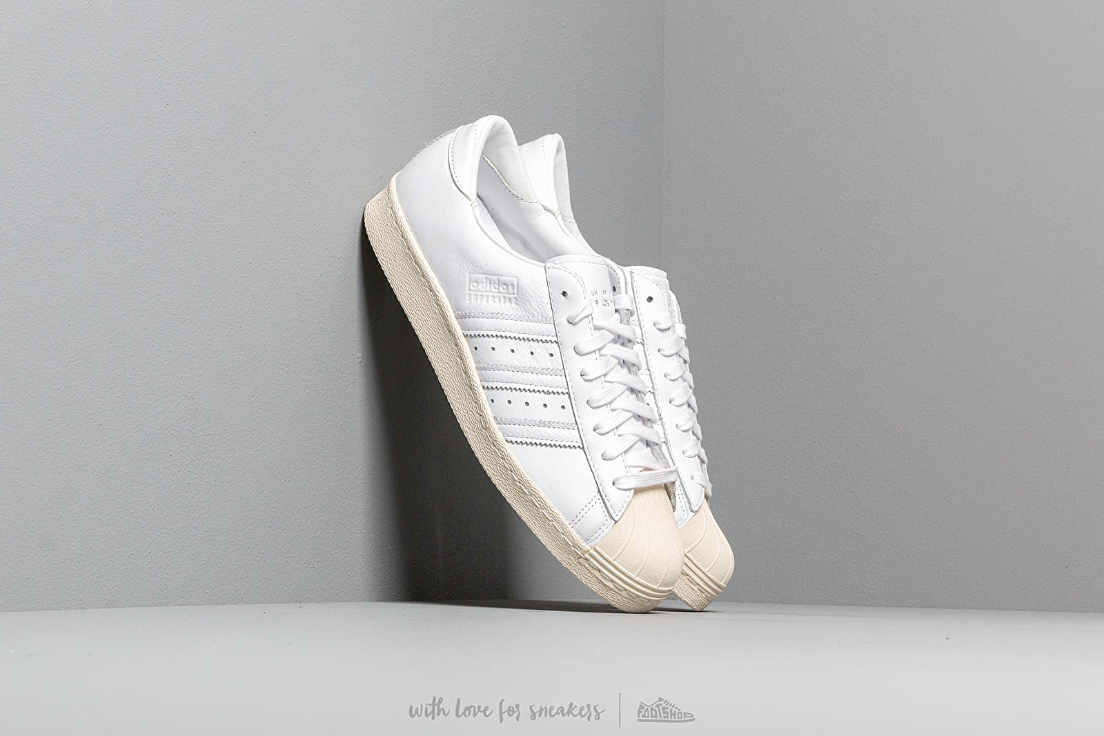 Men's shoes adidas Superstar 80S Recon Ftw White/ Ftw White/ Off White