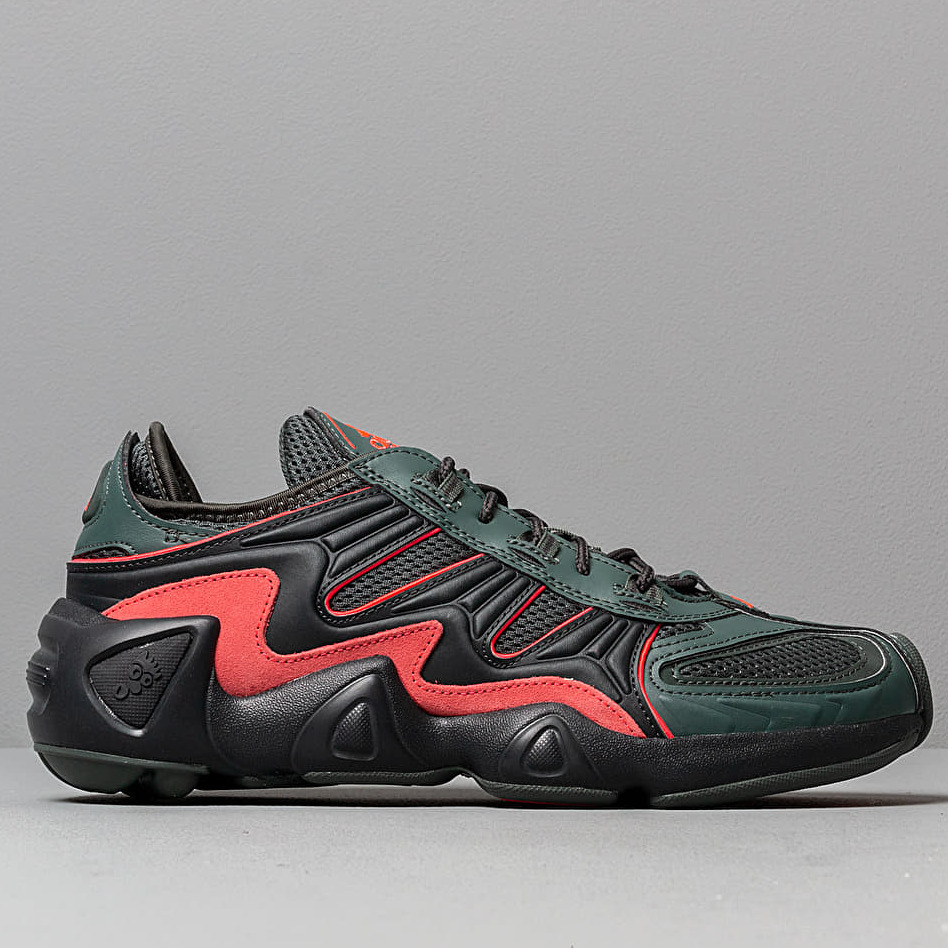 adidas FYW S-97 Legend Ivy/ Carbon/ Shock Red, Green