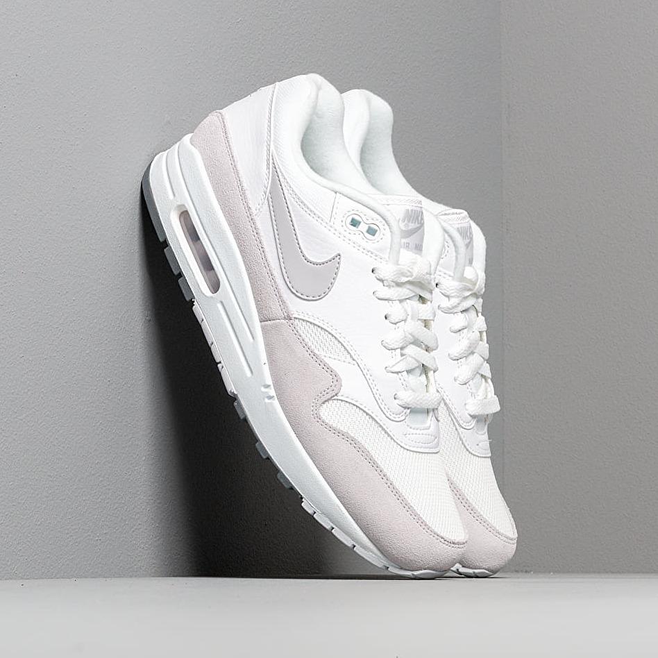 Nike Air Max 1 White/ Pure Platinum-Cool Grey EUR 45