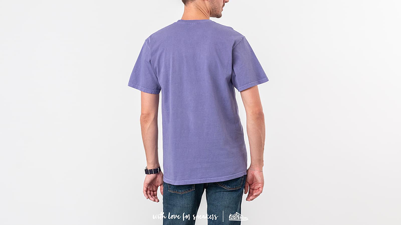Stüssy Tour Pig. Dyed Tee Purple za skvělou cenu 1 440 Kč koupíte na Footshop.cz