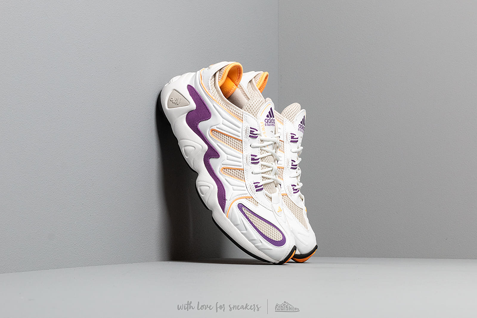 adidas FYW S-97 Crystal White/ Crystal White/ Flace Orange at a great price 136 € buy at Footshop