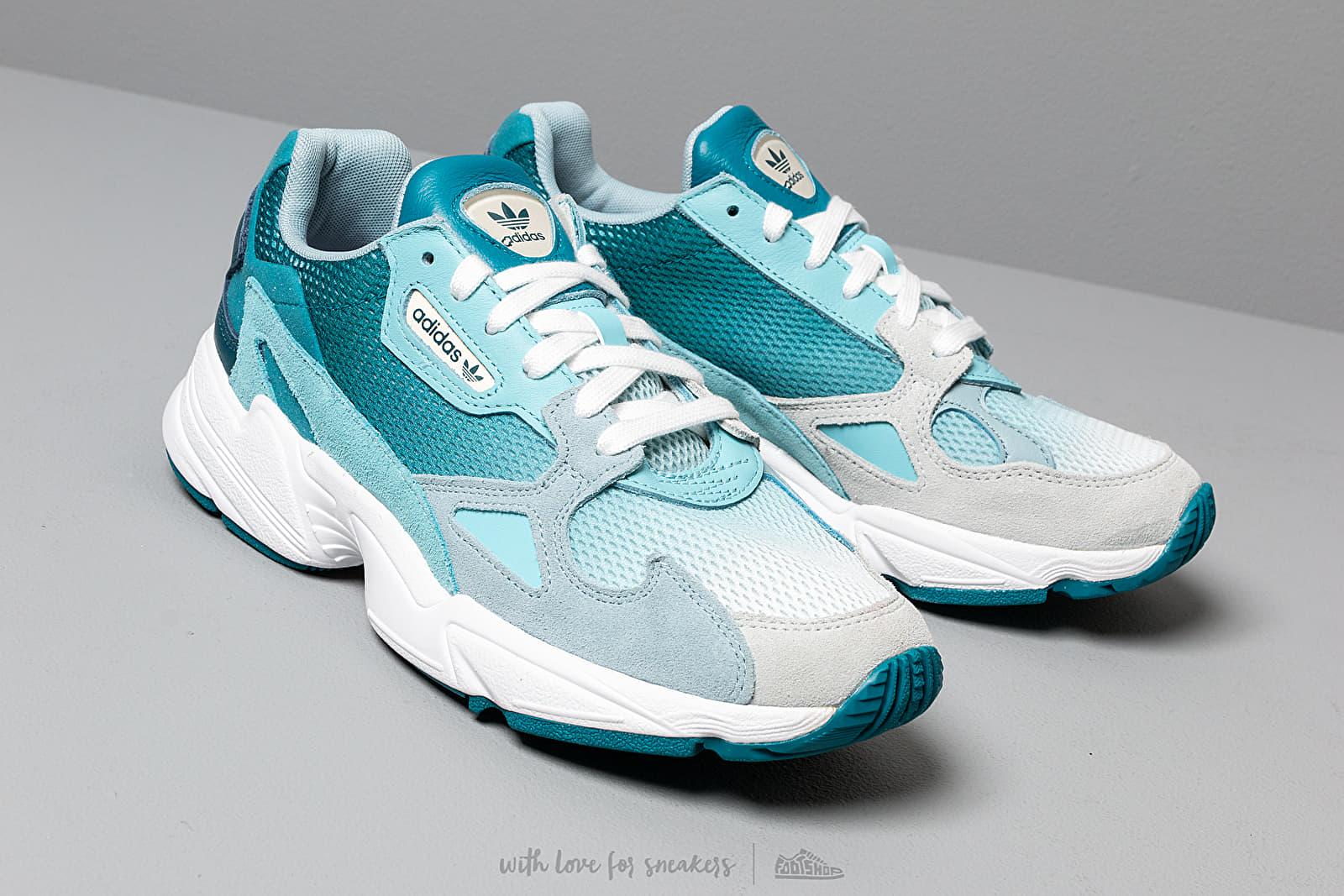 adidas Falcon W Blue Tint Light Aqua Ash Grey | Footshop