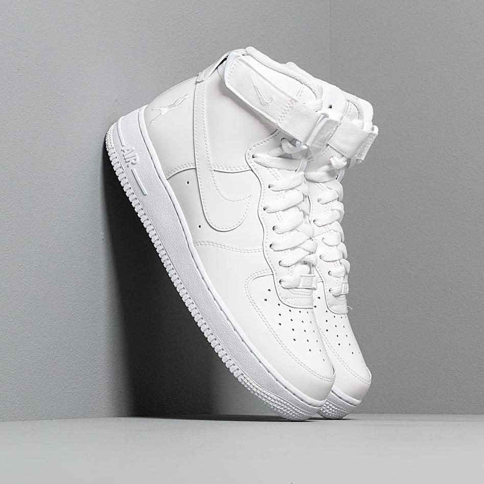 Nike Air Force 1 Hi Retro QS White/ White/ White EUR 43