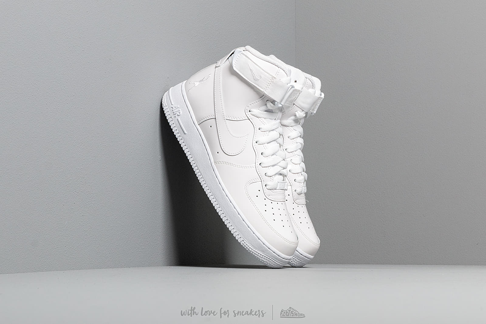 Nike Air Force 1 Hi Retro QS White/ White/ White