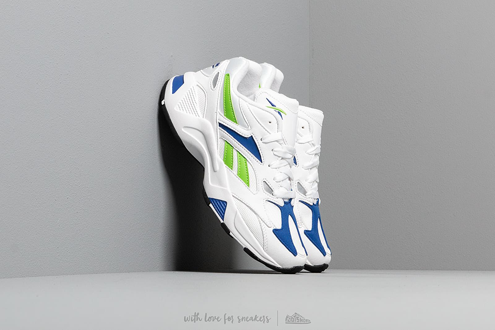 Reebok Aztrek 96 White/ Cobalt/ Semi Solar Green za skvelú cenu 86 € kúpite na Footshop.sk