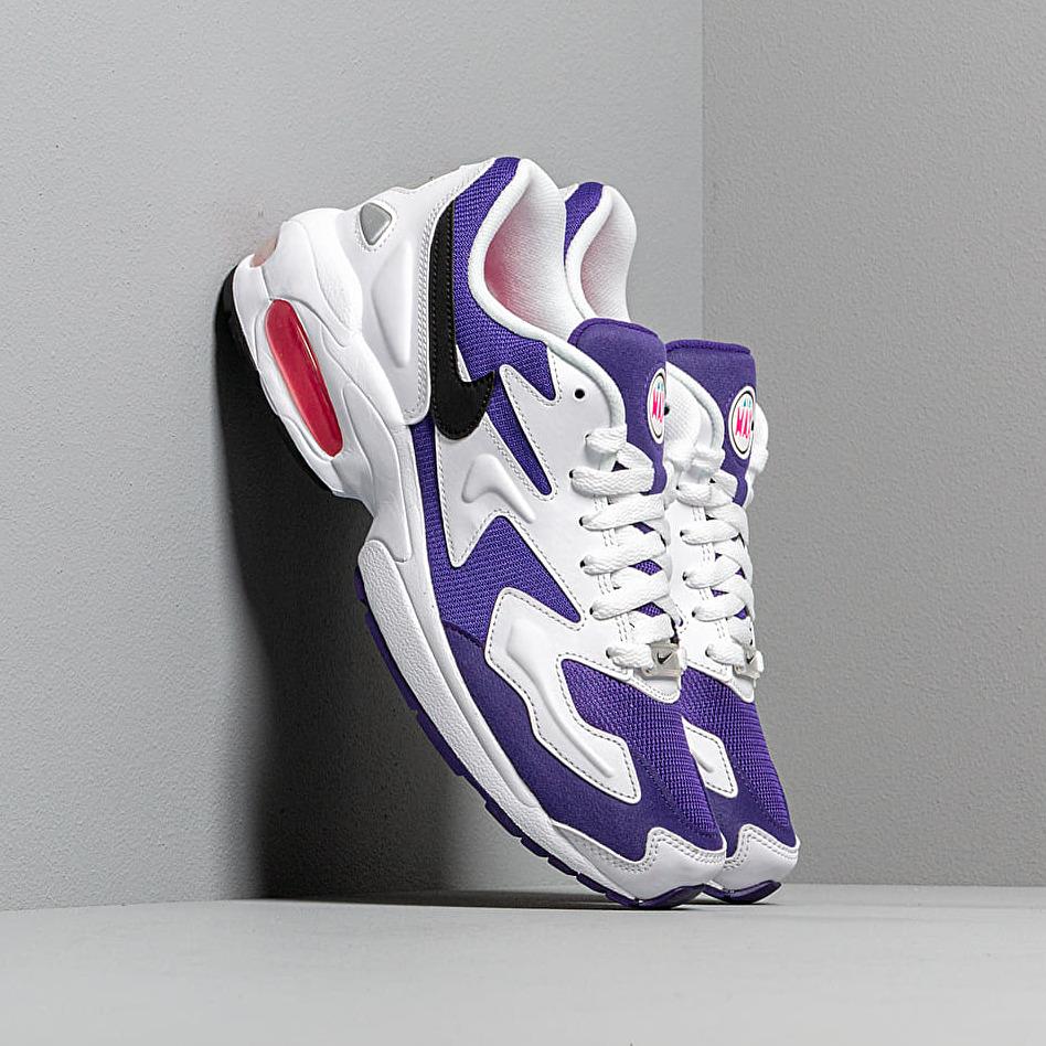 Nike Air Max2 Light White/ Black-Court Purple-Hyper Pink EUR 43
