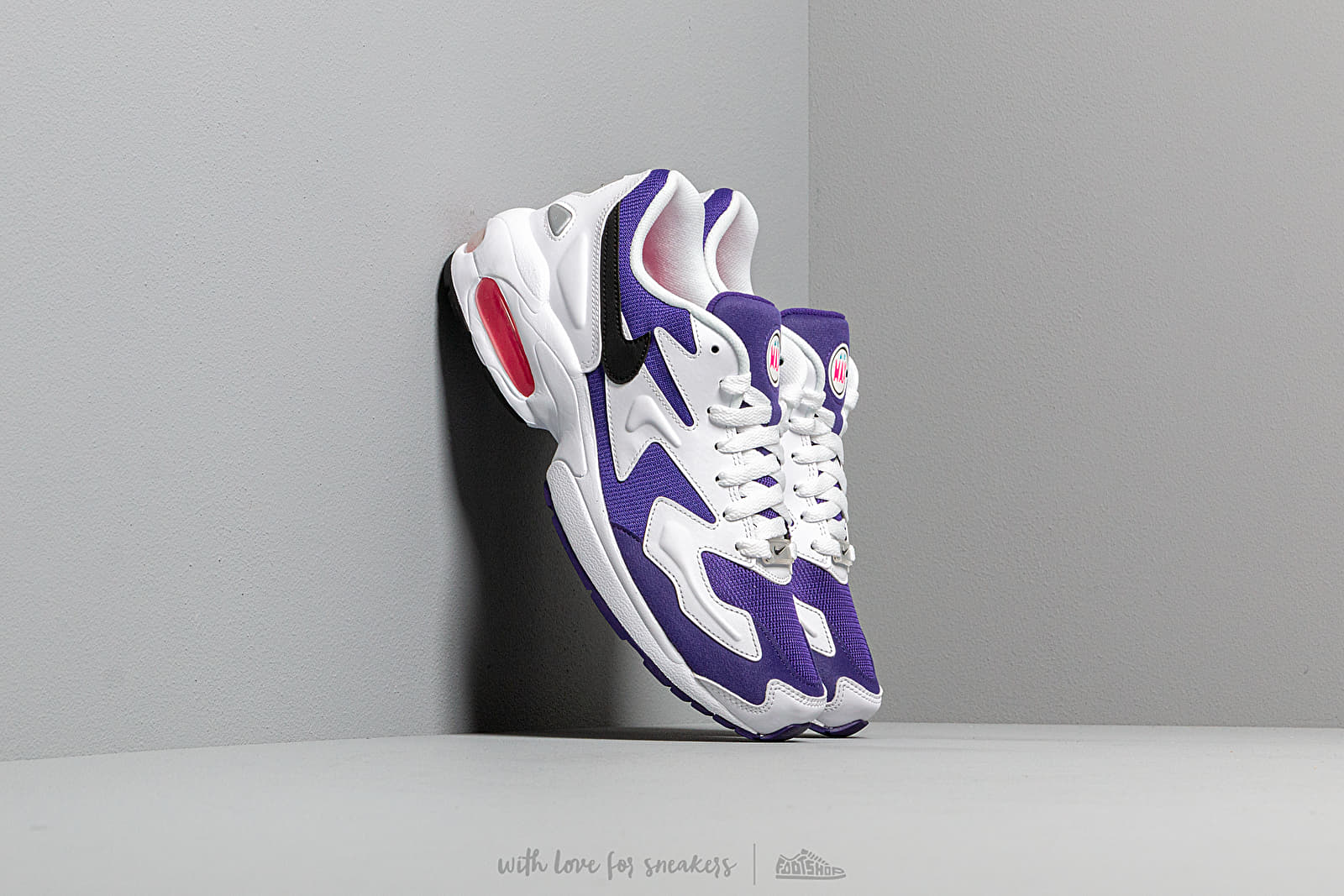 Nike Air Max2 Light White/ Black-Court Purple-Hyper Pink at a great price 132 € buy at Footshop