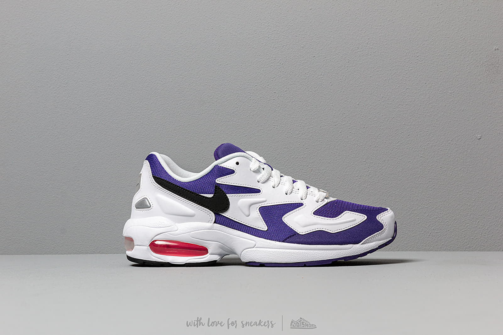 Nike Air Max2 Light White Black Court Purple Hyper Pink | Footshop