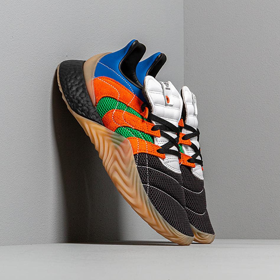 adidas Consortium x SVD Sobakov BOOST Ftwr White/ Power Blue/ Green EUR 42
