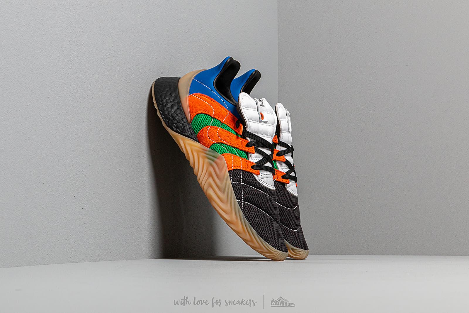 Men's shoes adidas Consortium x SVD Sobakov BOOST Ftwr White/ Power Blue/ Green