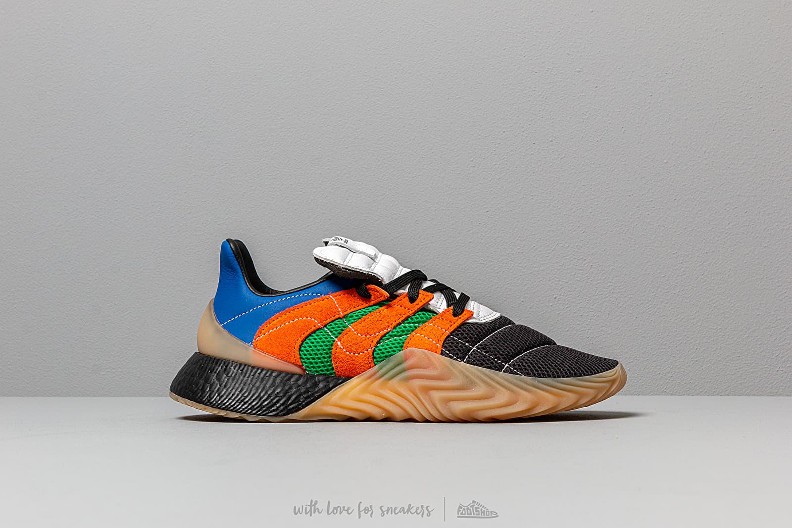 estómago entregar Comercial  Men's shoes adidas Consortium x SVD Sobakov BOOST Ftwr White/ Power Blue/  Green | Footshop
