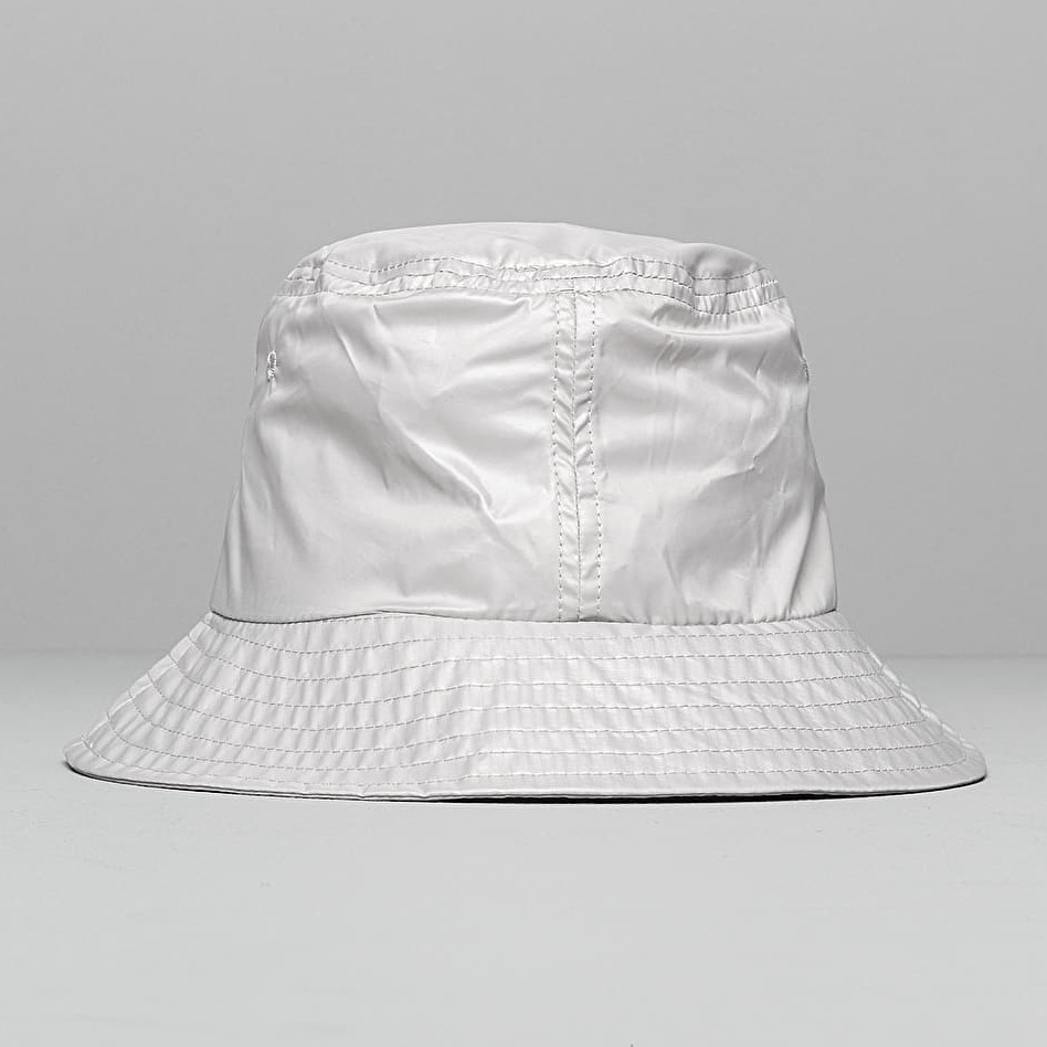 Stüssy Langley Shiny Bucket Hat Grey, Gray