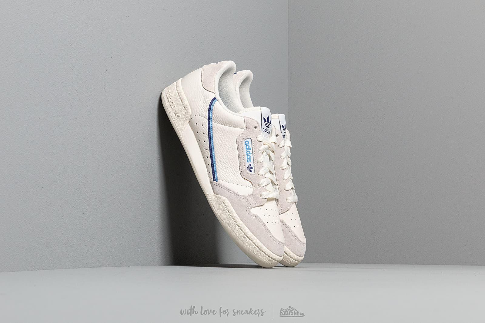Încălțăminte și sneakerși pentru femei adidas Continental 80 W Off White/ Cloud White/ Raw White