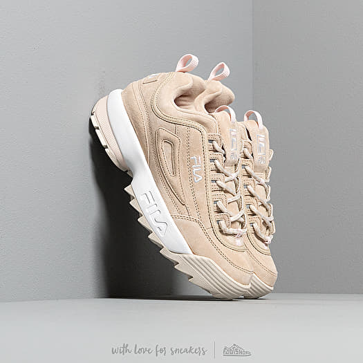 shoes FILA Disruptor S Low Wmn Feather Gray