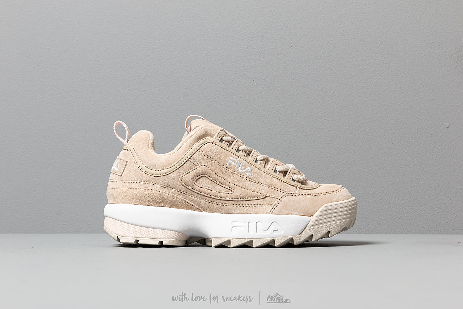Fila Disruptor S Low Womens Feather