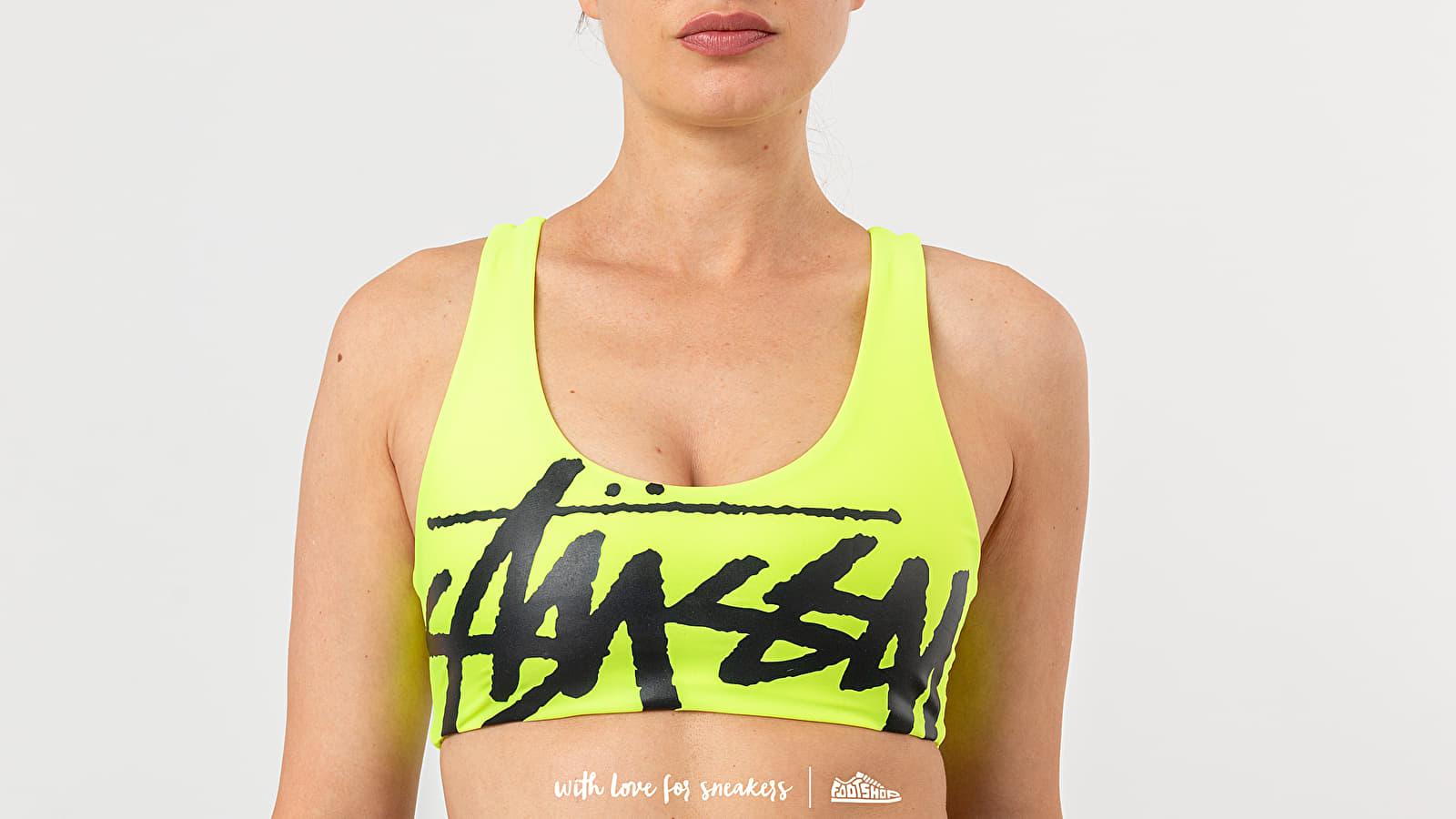 Stüssy Myla Swim Top Neon Yellow za skvělou cenu 2 390 Kč koupíte na Footshop.cz