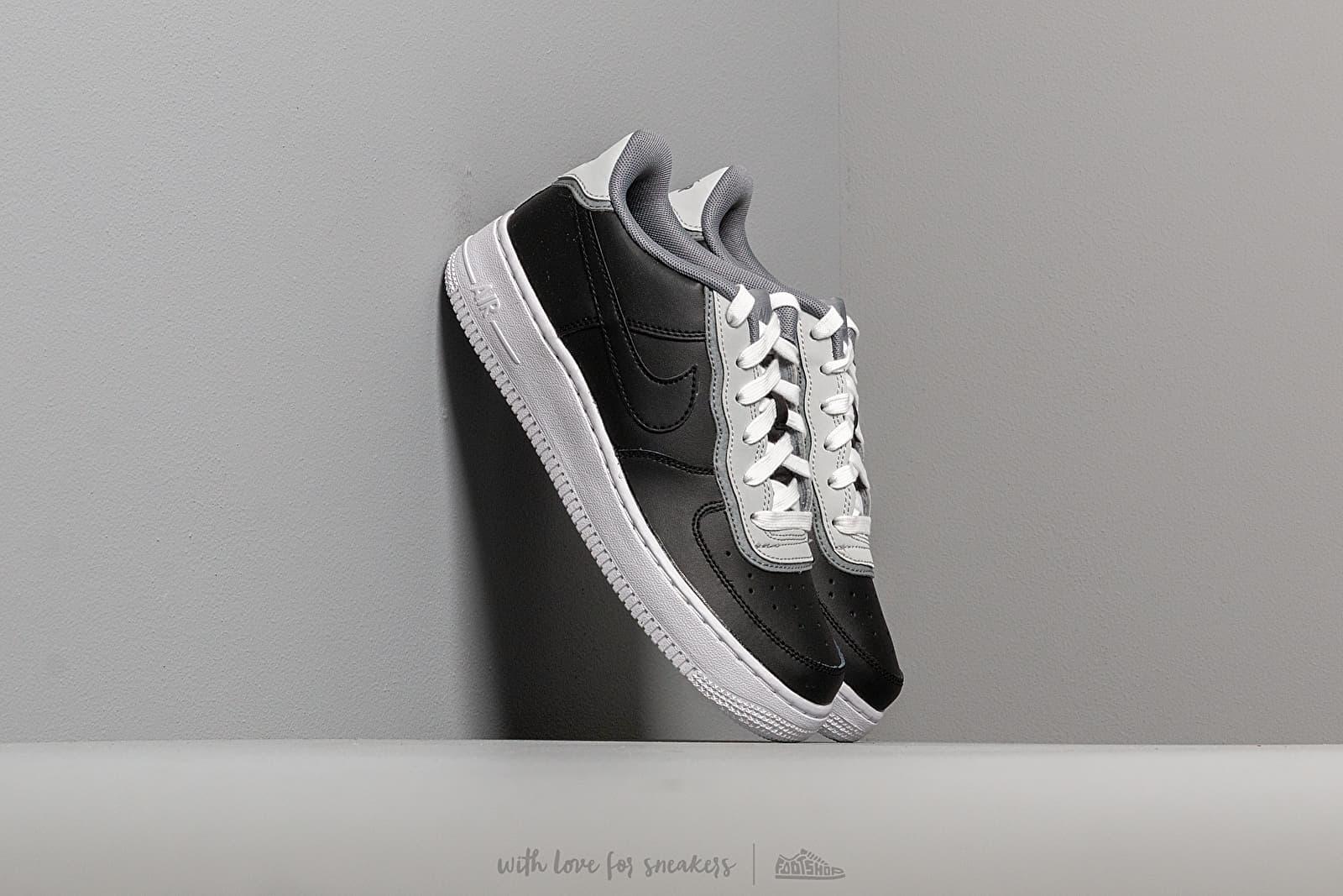 Nike Air Force 1 Lv8 1 Double GS Black/ Black-Pure Platinum-Cool Grey za skvělou cenu 2 190 Kč koupíte na Footshop.cz