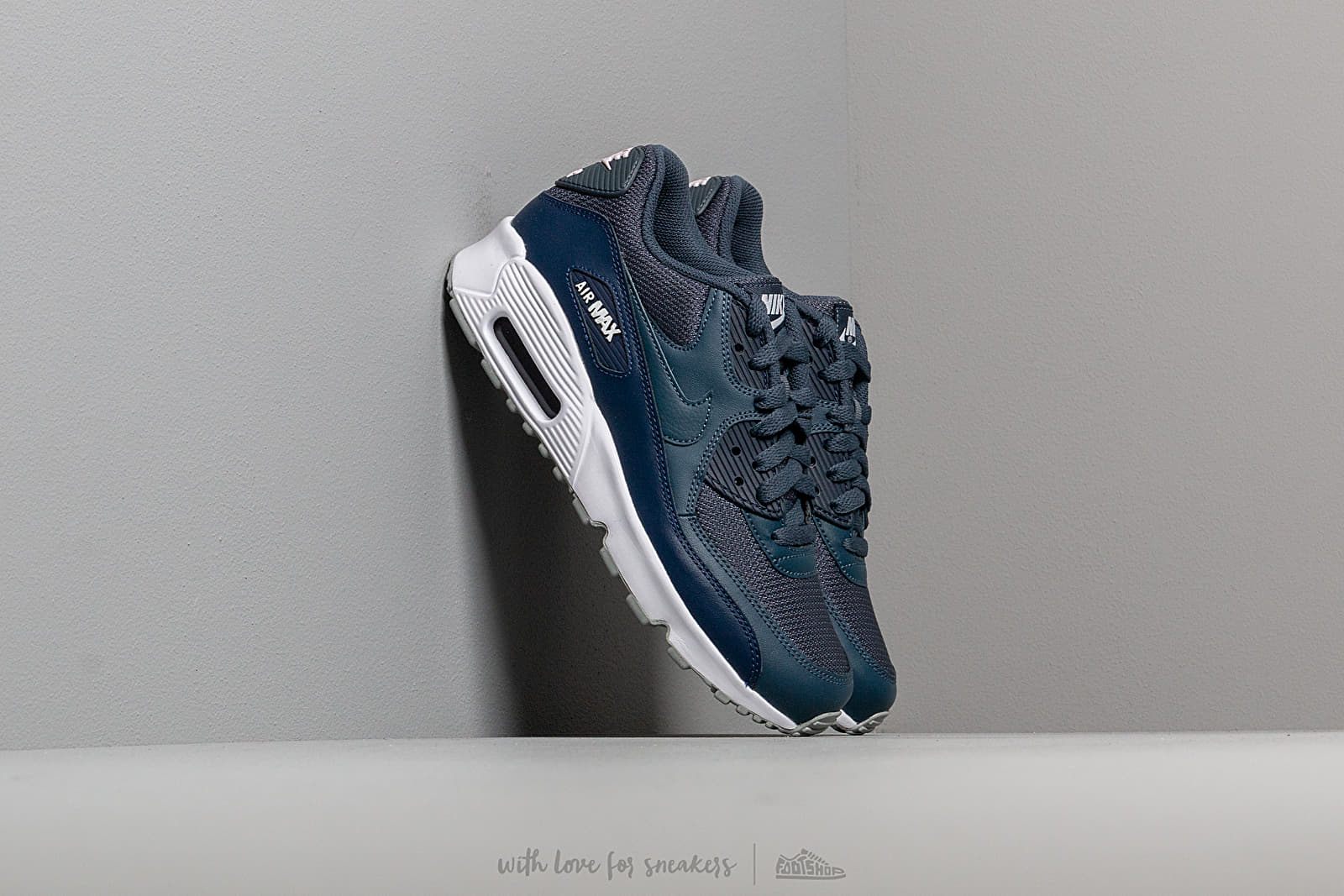 Nike Air Max 90 Mesh (GS) Monsoon Blue/ Monsoon Blue-Midnight Navy at a great price 99 € buy at Footshop