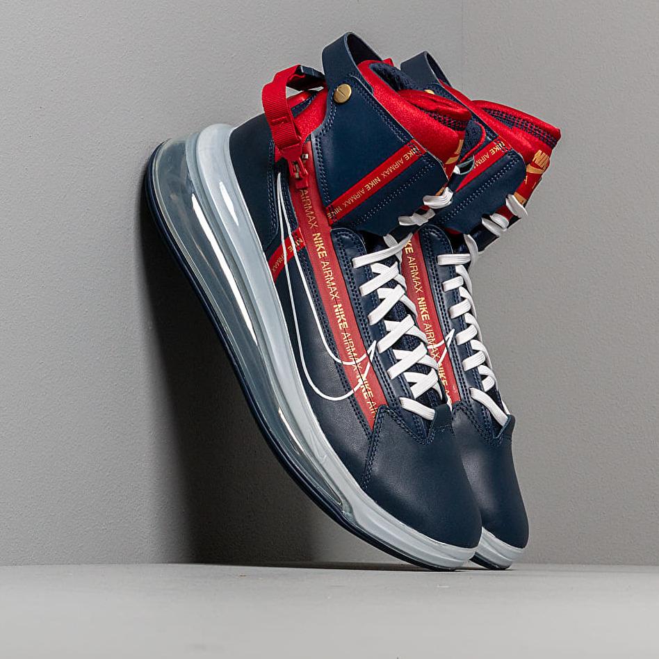 Nike Air Max 720 Satrn Midnight Navy/ White-Gym Red EUR 42.5