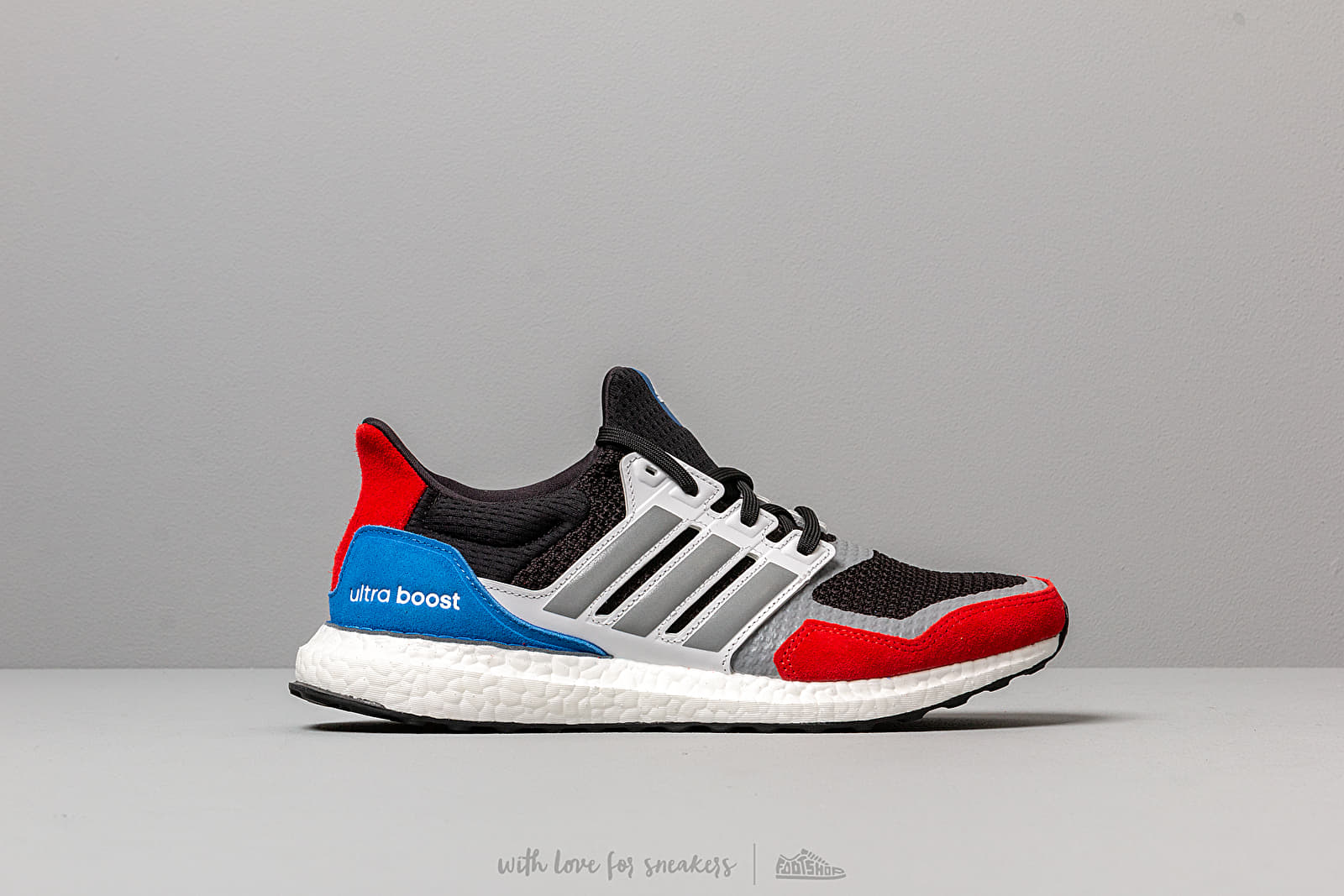 adidas UltraBOOST S&L m Core Black Grey Three Ftw White