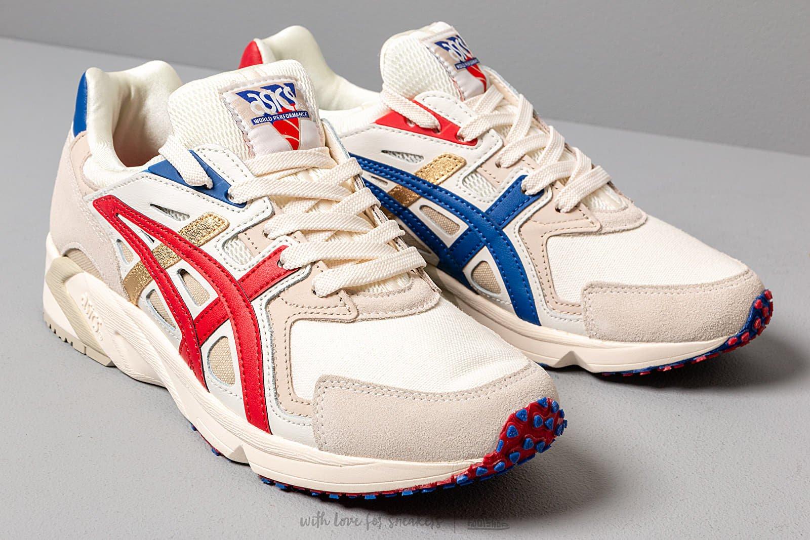 como el desayuno Húmedo R  Men's shoes Asics x Carnival GEL-DS Trainer OG Cream/ Asics Blue | Footshop