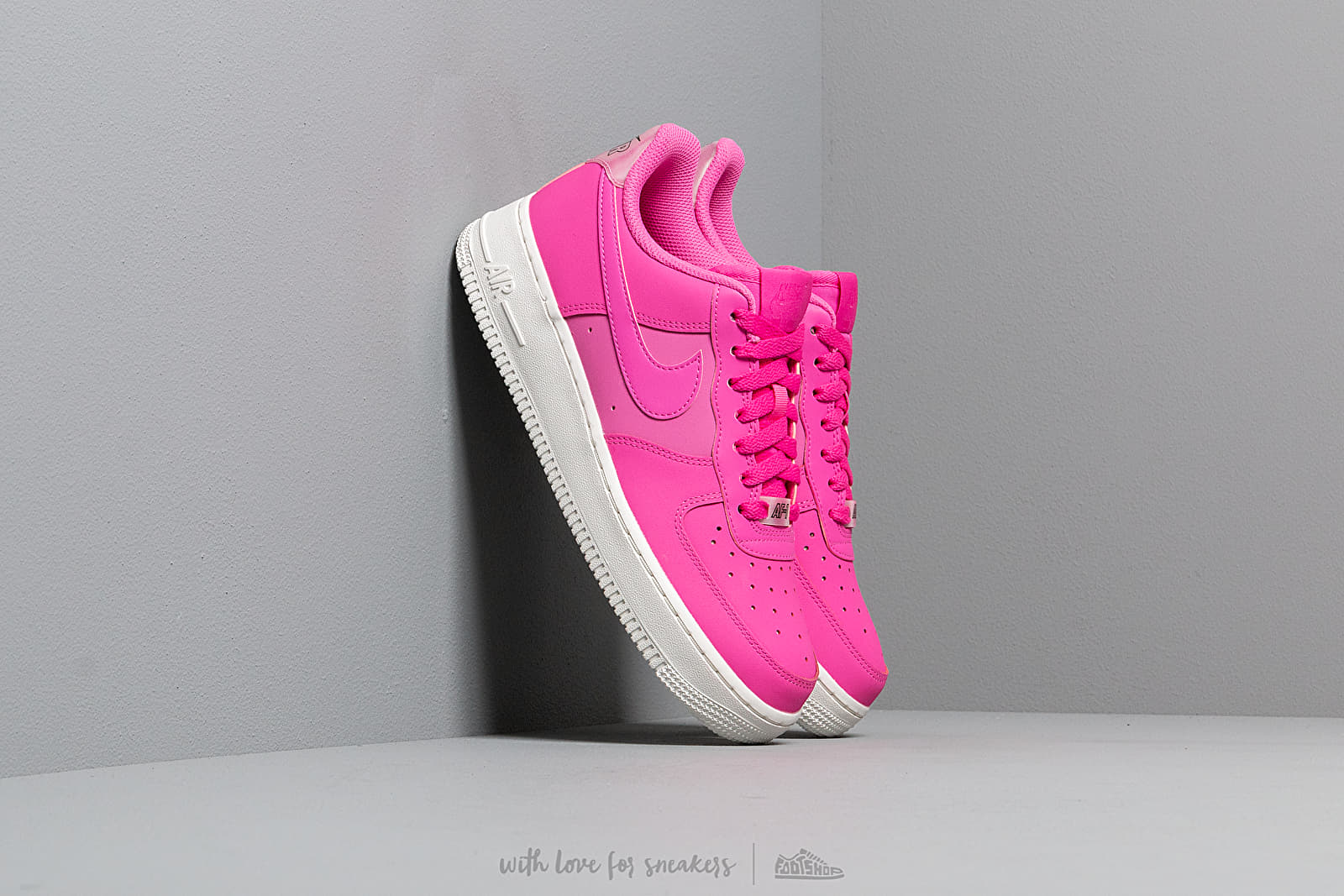 Nike Wmns Air Force 1 '07 Essential Laser Fuchsia/ Laser Fuchsia-Summit White at a great price 95 € buy at Footshop
