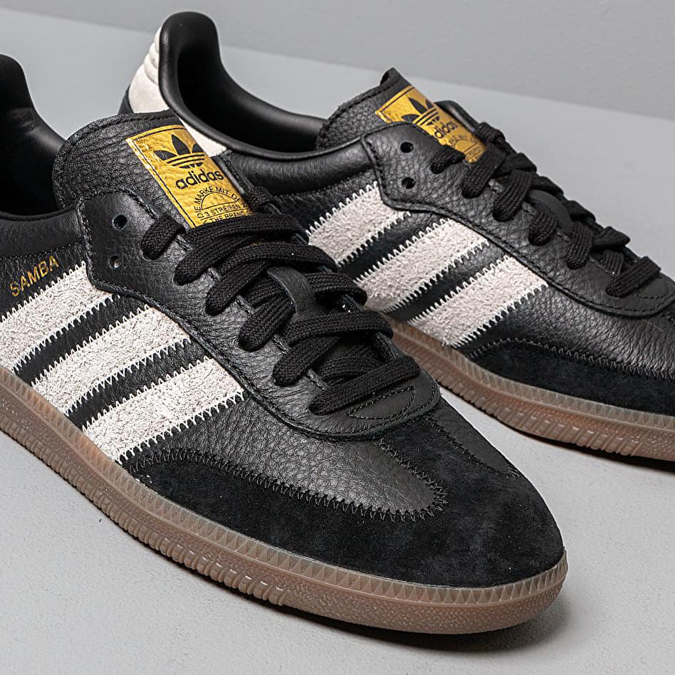 adidas Samba OG Ft Core Black/ Raw White/ Gold Metalic