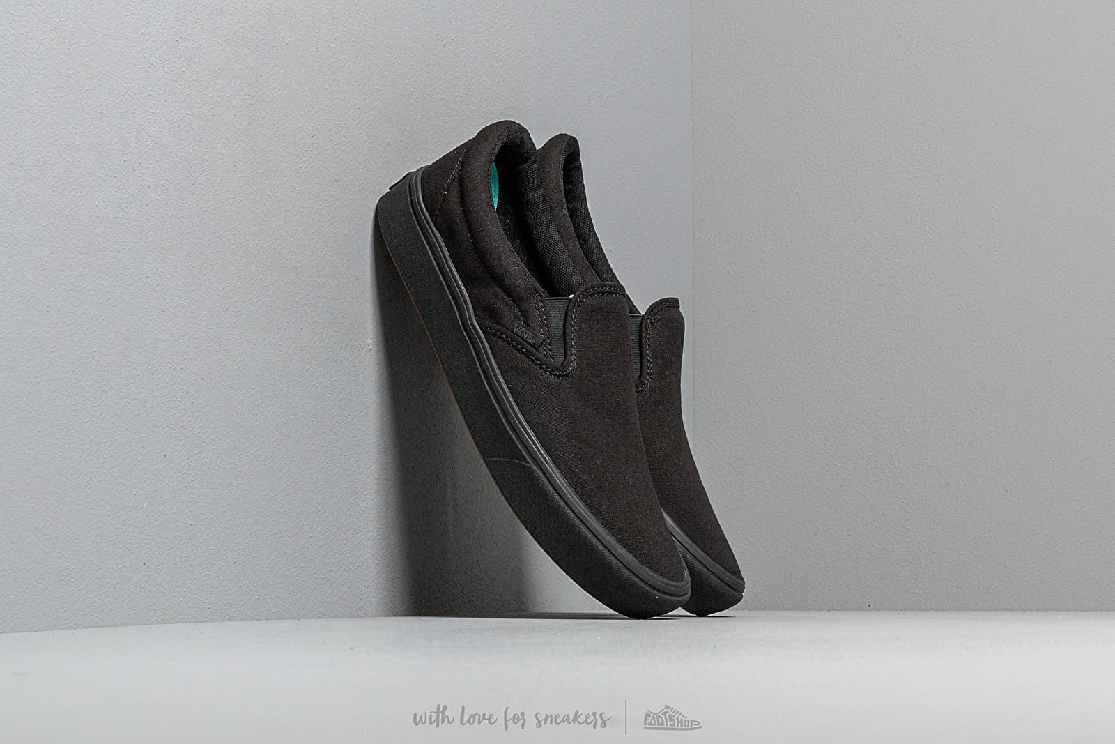 Pánské tenisky a boty Vans ComfyCush Slip-On (Classic) Black/ Black