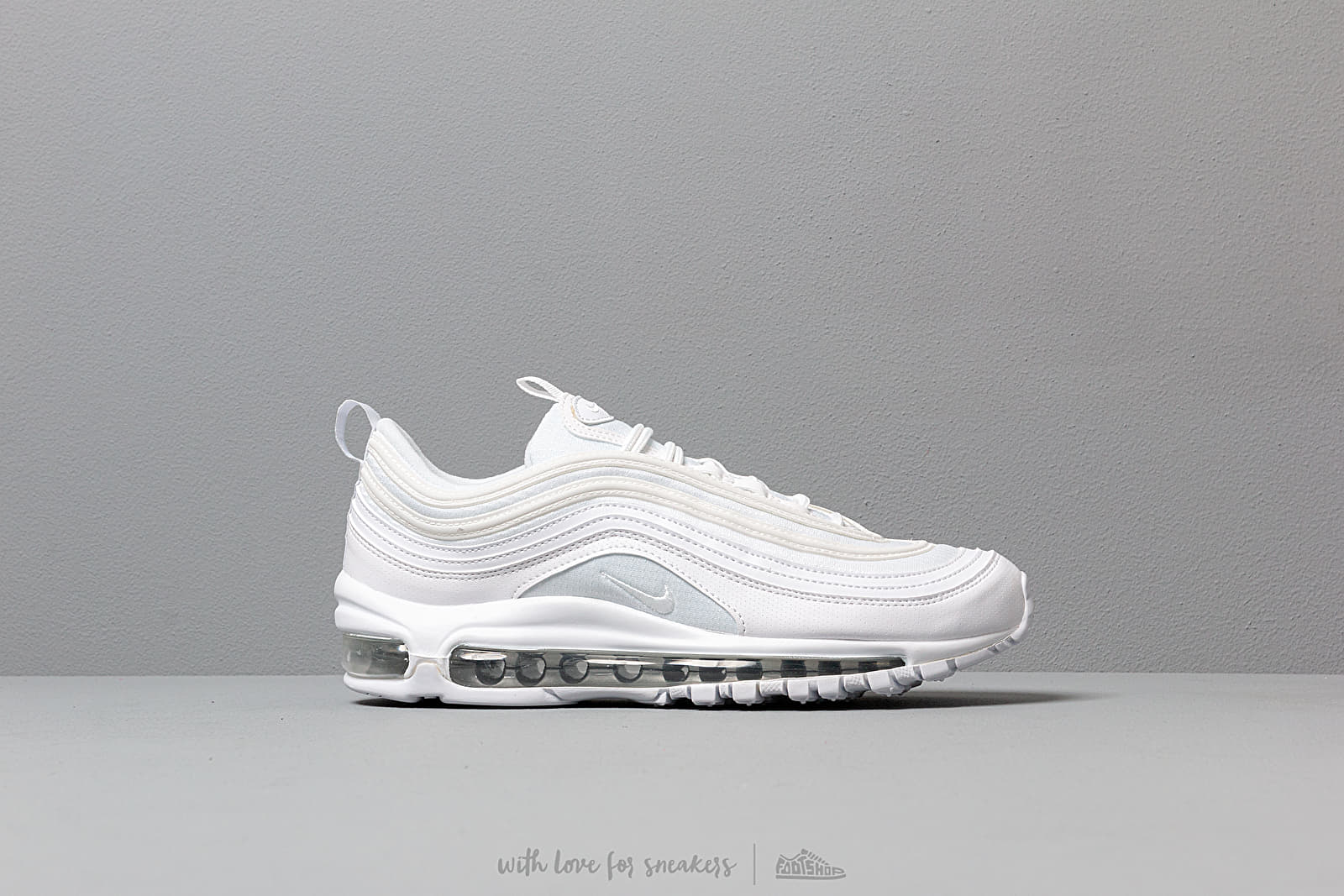 low priced b0b00 1e55d Nike Air Max 97 (GS) White  White-Metallic Silver at a great