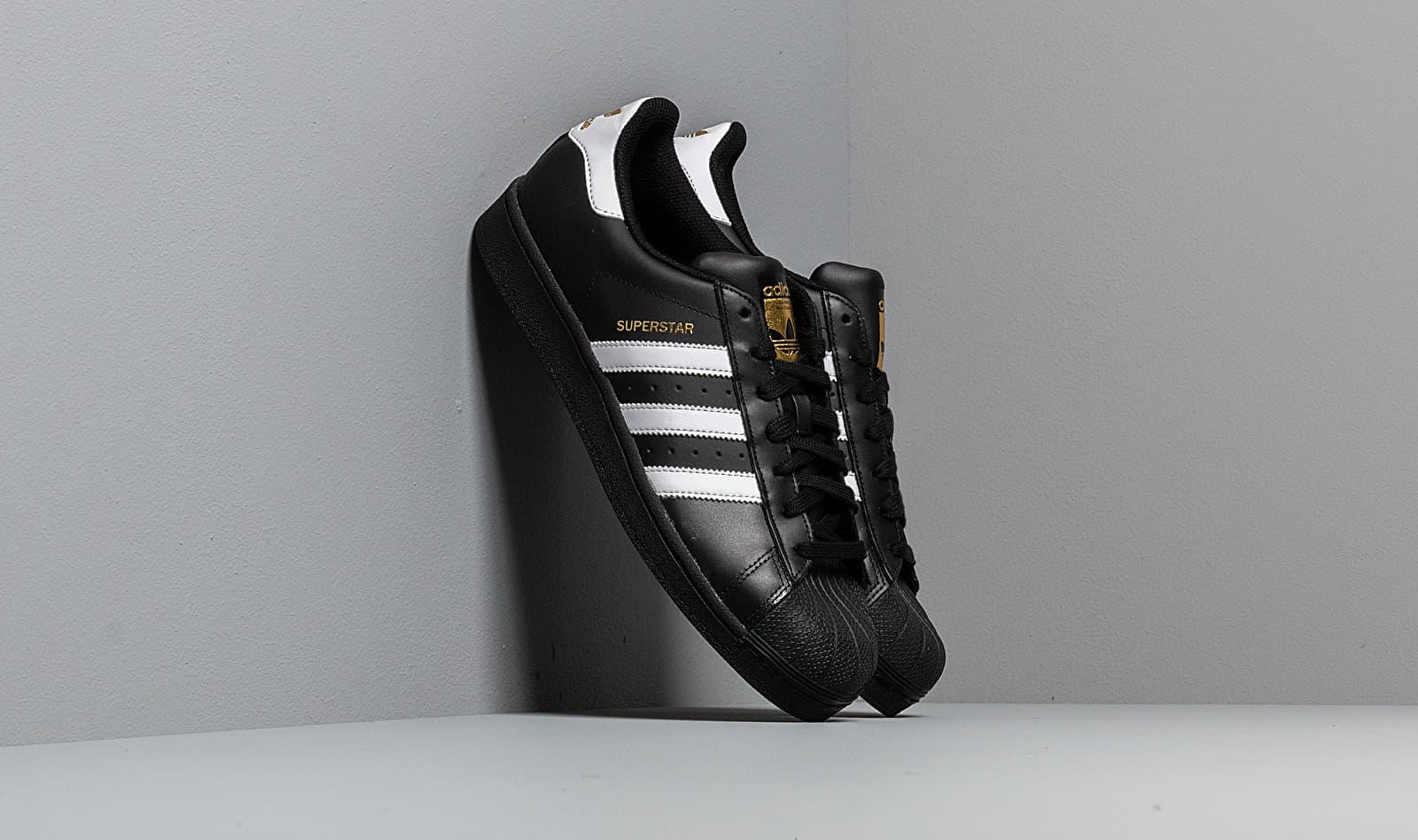 adidas Superstar Foundation Core Black/ Ftw White/ Core Black EUR 41 1/3