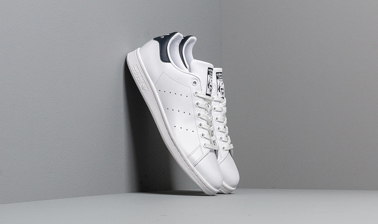 adidas Stan Smith Running White/New Navy EUR 46