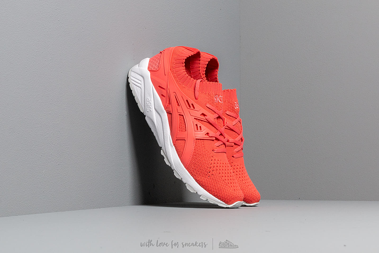 f479735ec8613 Asics Gel-Kayano Trainer Knit Peach/ Peach | Footshop
