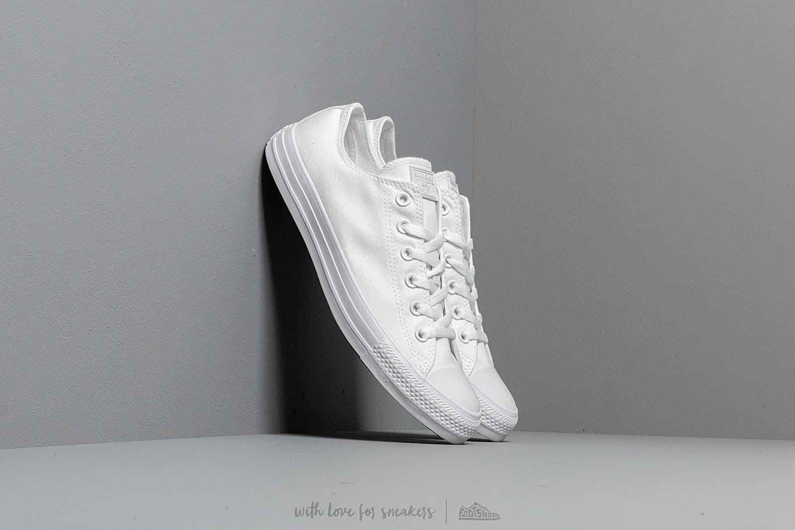 Converse Chuck Taylor All Star Seasonal White Monoch za skvělou cenu 1 890 Kč koupíte na Footshop.cz