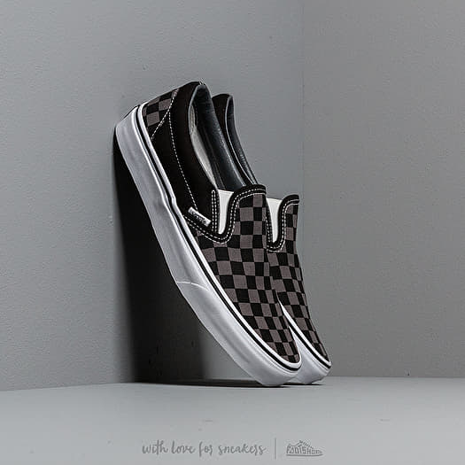 Classic Slip On (Checkerboard) BlackPewter