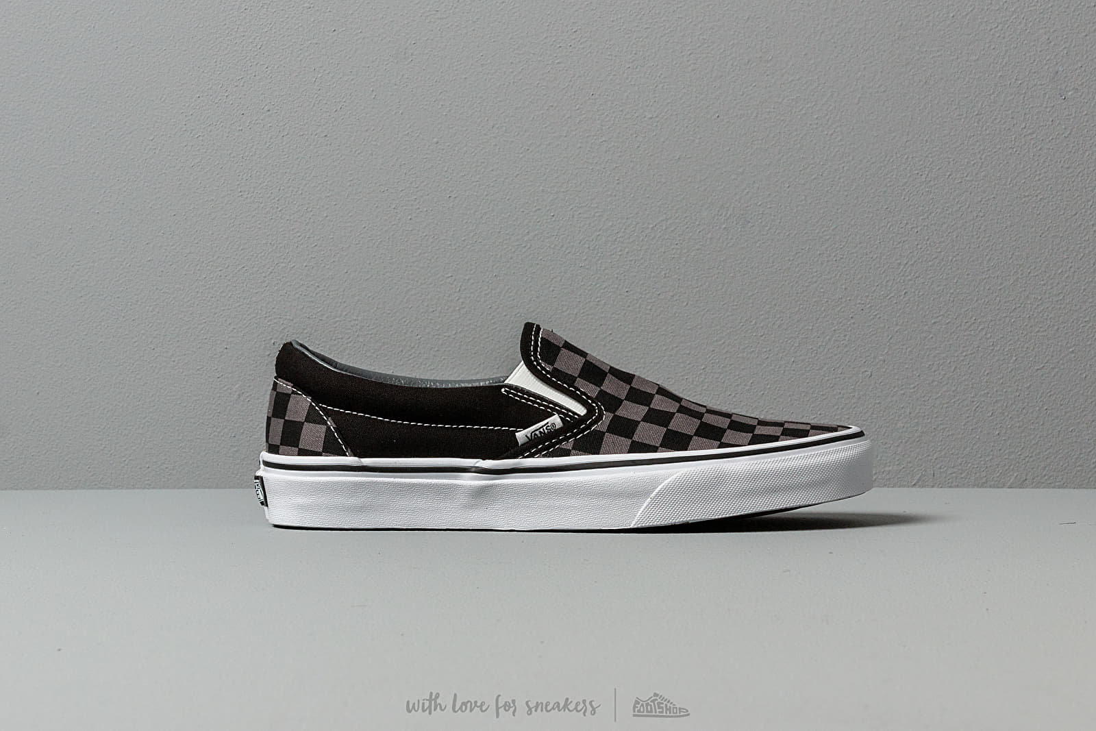 38070ba5779e2 Vans Classic Slip-On Black/ Pewter Checkerboard at a great price 55 €  bestell