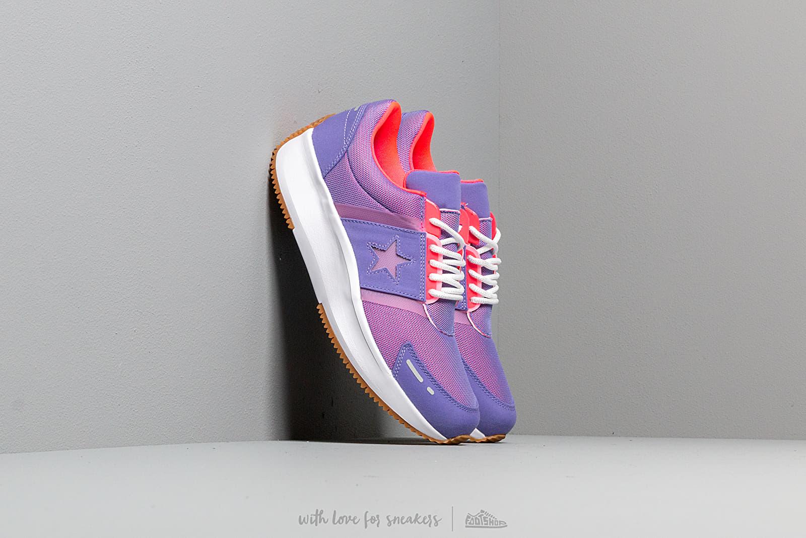 Converse Run Star Wild Lilac/ Racer Pink/ White za skvělou cenu 2 490 Kč koupíte na Footshop.cz