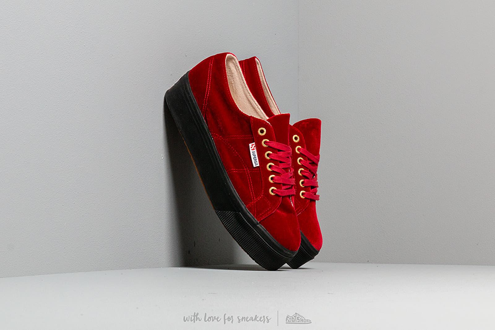 Superga 2790 Velvet W Dk Red za skvělou cenu 1 590 Kč koupíte na Footshop.cz