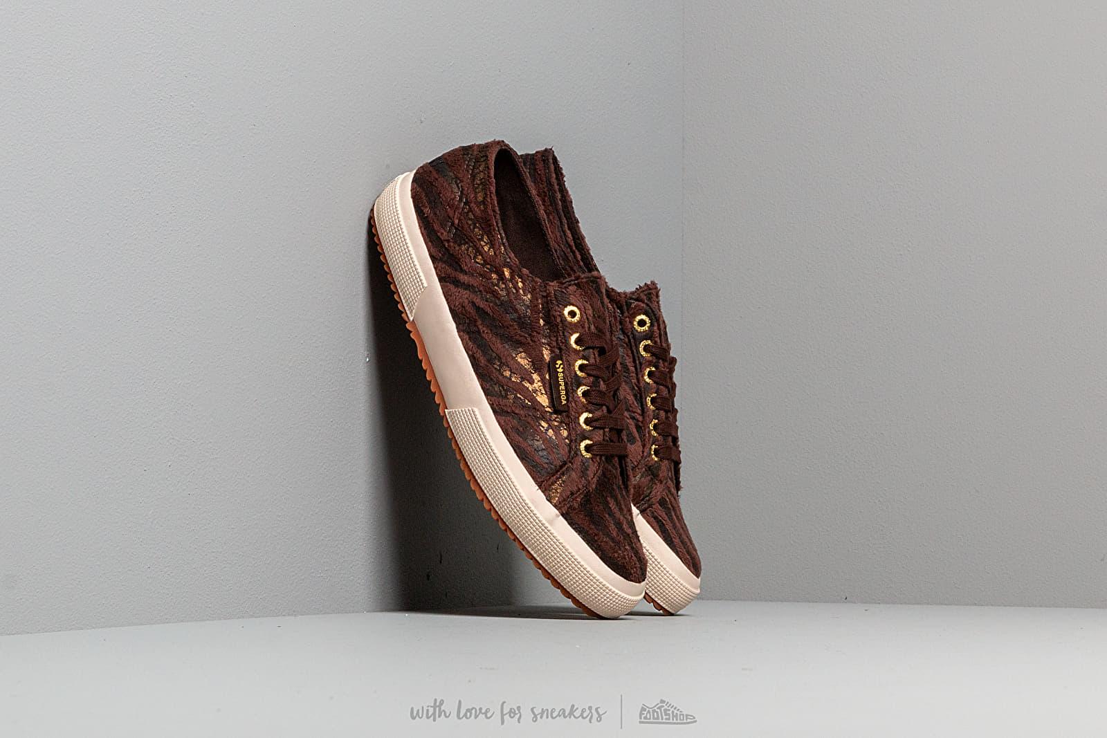 Superga 2750 Fabric Synthetic Zebra W Brown-Bronze za skvelú cenu 33 € kúpite na Footshop.sk