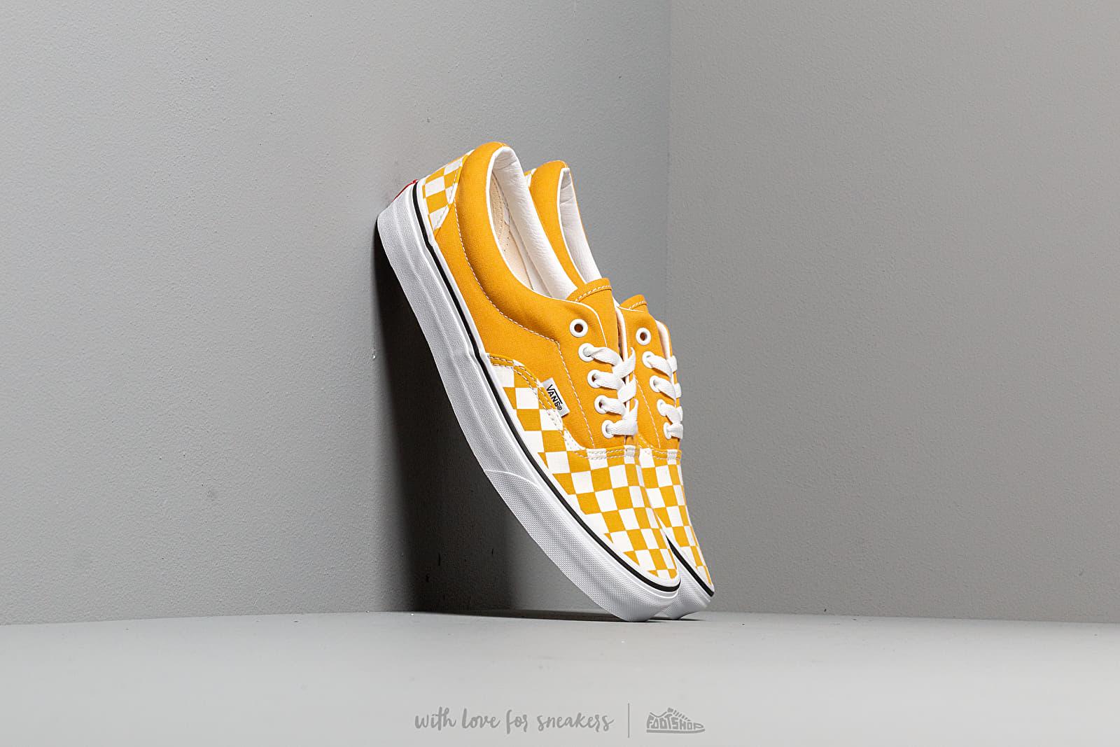 Vans Era (Checkerboardard) Yolk Yellow at a great price 62 € bestell bei Footshop