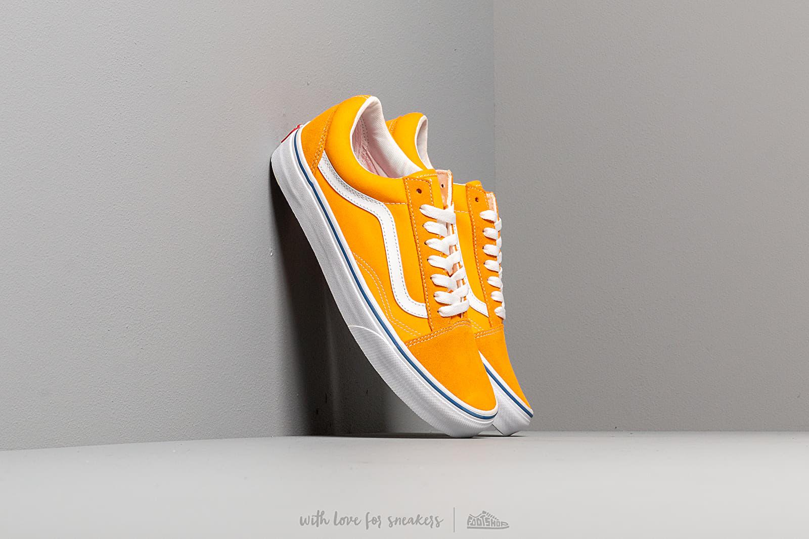 Pánské tenisky a boty Vans Old Skool (Suede/ Canvas) Zinnia/ True White