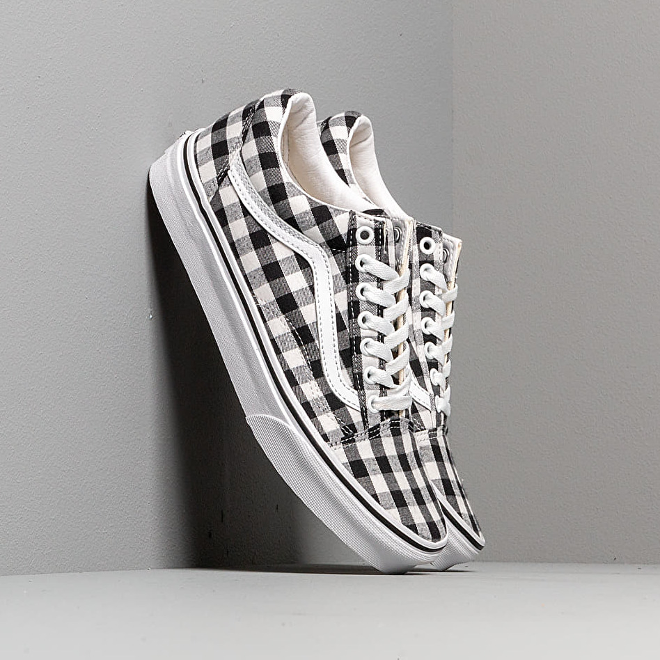Vans Old Skool (Gingham) Black/ True White EUR 39