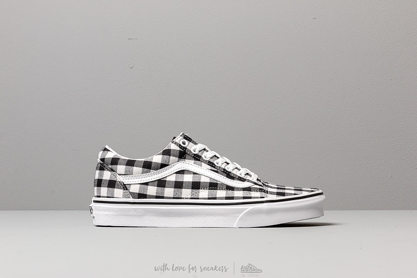 shoes Vans Old Skool (Gingham) Black