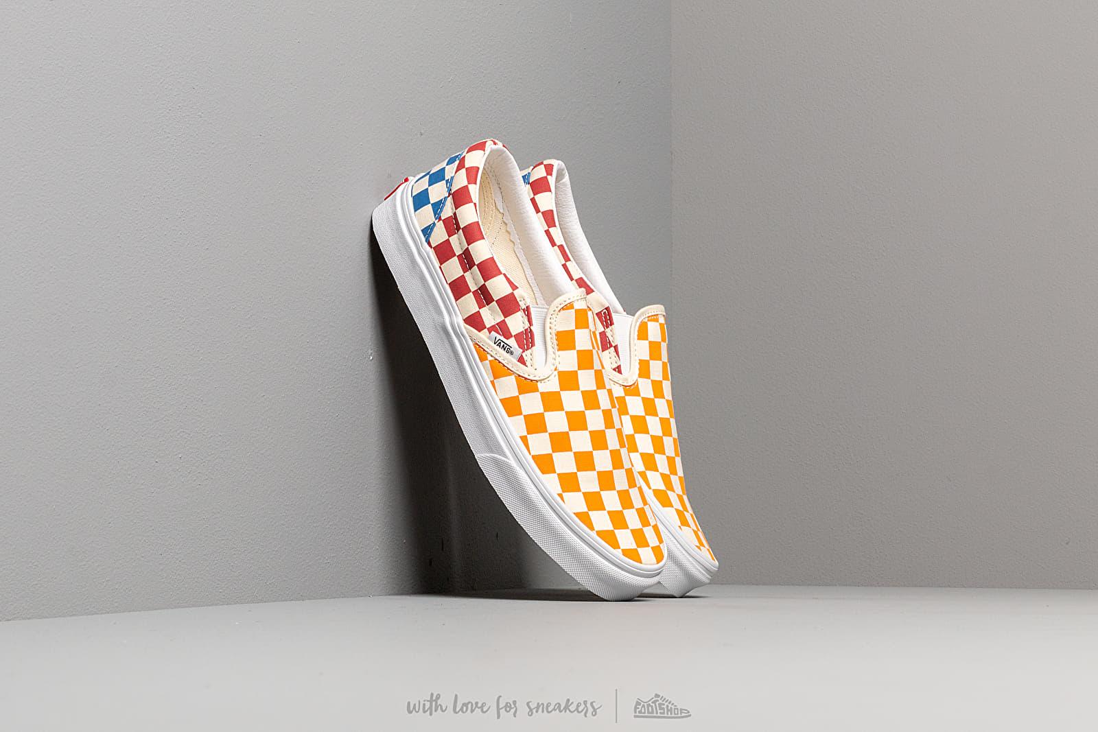 Vans Classic Slip-On (Checkerboardard) Multi/ True White za skvelú cenu 59 € kúpite na Footshop.sk