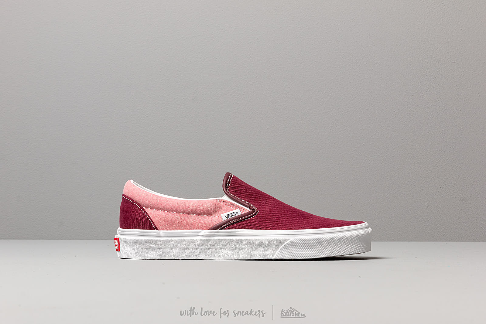 Vans Classic Slip On (Chambray) Canvas Port | Footshop